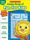 Jumbo Book of Fun for Kids Workbook