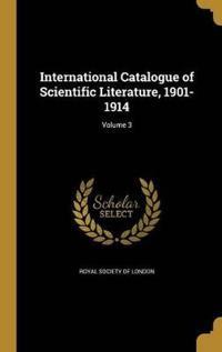 INTL CATALOGUE OF SCIENTIFIC L