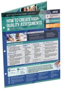 How to Create High-Quality Assessments (Qualities of Effective Teaching 25-Pack)