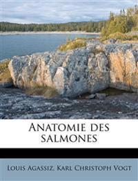 Anatomie des salmones