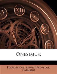 Onesimus: