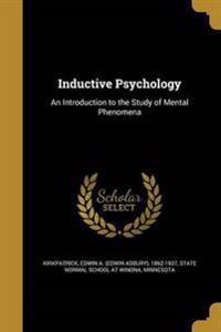 INDUCTIVE PSYCHOLOGY