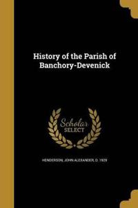HIST OF THE PARISH OF BANCHORY