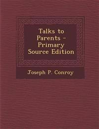 Talks to Parents
