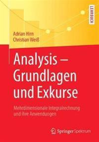 Analysis – Grundlagen Und Exkurse