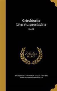 GER-GRIECHISCHE LITERATURGESCH