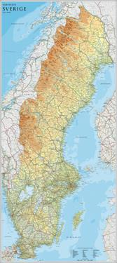 Karta Over Spaniens Vastkust.Vagkartor Atlaser Bocker Adlibris