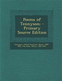 Poems of Tennyson;