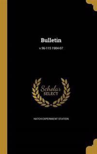 BULLETIN V96-115 1904-07