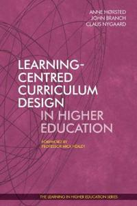 Learning-Centred Curriculum Design