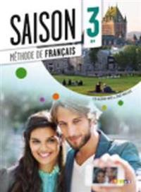 Saison 3 Podrecznik + CD + DVD