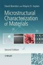 Microstructural Characterization of Materials