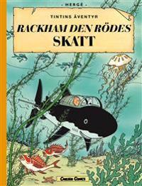 Rackham den rödes skatt (stort format)
