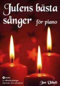 Julens bästa sånger för piano (spiral)