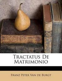 Tractatus De Matrimonio
