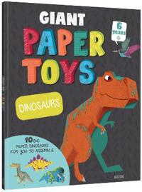 Giant Paper Toys Dinosaurs