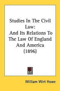 Studies in the Civil Law