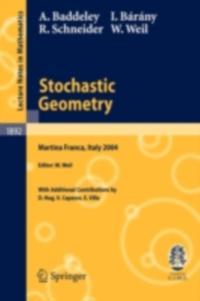 Stochastic Geometry