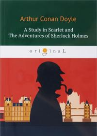 A Study in Scarlet and The Adventures of Sherlock Holmes Podrobnee: https://www.labirint.ru/books/618130/