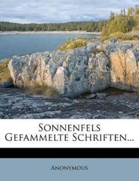 Sonnenfels Gefammelte Schriften...