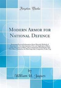 Modern Armor for National Defence