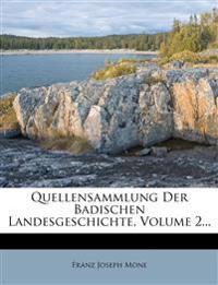 Quellensammlung der badischen Landesgeschichte.