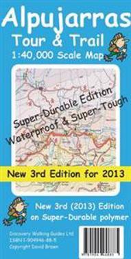 Alpujarras TourTrail Super-Durable Map