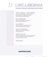 Liikejuridiikka 1/2018