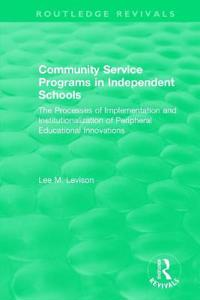 Community Service Programs in Independent Schools