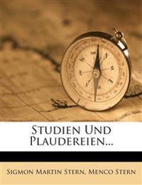 Studien Und Plaudereien...