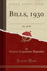 Bills, 1930