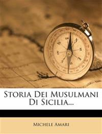 Storia Dei Musulmani Di Sicilia...