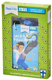 Jalkaa palloon - avaimenperäpakka 6-12 v
