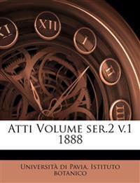 Atti Volume ser.2 v.1 1888