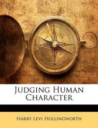Judging Human Character