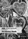 Stimmt! AQA GCSE German Foundation Vocabulary Book (pack of 8)