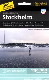 Skridskokarta Stockholm 1:30.000 -  pdf epub