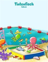 Tintenfisch-Malbuch 1