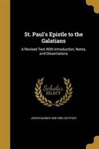 ST PAULS EPISTLE TO THE GALATI