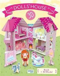 DOLLS HOUSE BOOK3D MODEL