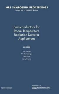 Semiconductors for Room-Temperature Radiation Detector Applications
