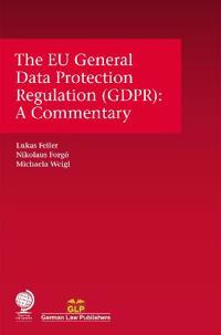 Eu General Data Protection Regulation (Gdpr): A Commentary