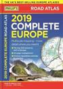 Philips 2019 complete road atlas europe - (a4 with practical flexi cover)
