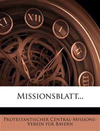 Missionsblatt...
