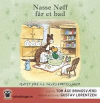 Nasse Nøff får et bad