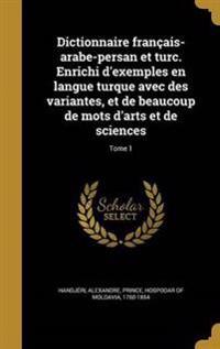 FRE-DICTIONNAIRE FRANCAIS-ARAB
