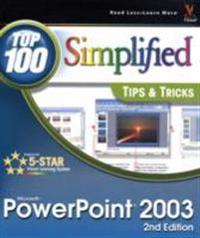 PowerPoint 2003: Top 100 Simplified Tips Tricks, 2nd Edition