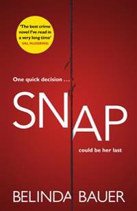 Snap - `the best crime novel ive read in a very long time val mcdermid