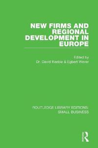 New Firms and Regional Development in Europe