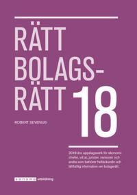 Rätt Bolagsrätt 2018